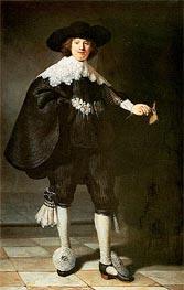 Rembrandt | Portrait of Marten Soolmans | Giclée Canvas Print