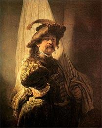 Rembrandt | Standard Bearer | Giclée Canvas Print