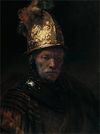Rembrandt | The Man with the Golden Helmet, 1636 | Giclée Canvas Print