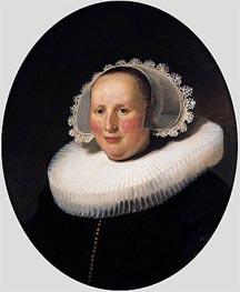 Rembrandt | Portrait of Maertgen van Bilderbeecq, 1633 | Giclée Canvas Print