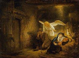 Rembrandt | The Dream of St Joseph, 1645 | Giclée Canvas Print