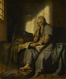 Rembrandt | The Apostle Paul in Prison, 1627 | Giclée Canvas Print