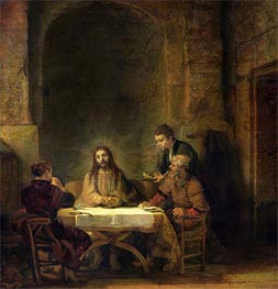Rembrandt | The Supper at Emmaus, 1648 | Giclée Canvas Print