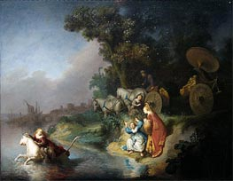 Rembrandt | The Rape of Europe, Undated | Giclée Canvas Print
