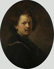 Rembrandt | Self Portrait, 1633 | Giclée Canvas Print
