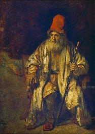 Rembrandt | The Old Man with the Red Cap, undated | Giclée Canvas Print