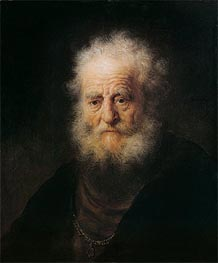 Rembrandt | Portrait of an Old Man, 1632 | Giclée Canvas Print