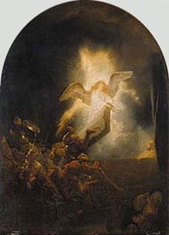 Rembrandt | Resurrection of Christ, c.1635 | Giclée Canvas Print