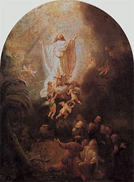 Rembrandt | The Ascension of Christ, 1636 | Giclée Canvas Print