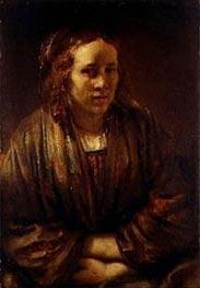Rembrandt | Portrait of Hendrickje Stoffels, undated | Giclée Canvas Print