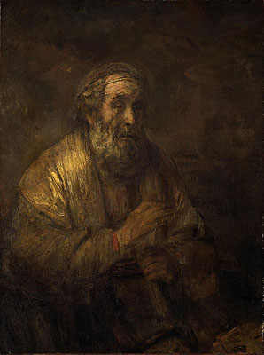 Homer, 1663   Rembrandt   Painting Reproduction