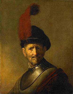 Portrait of a Man (Rembrandt's Father), 1634 | Rembrandt | Painting Reproduction