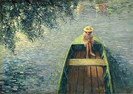 Henri Lebasque | A Boat on the Marne, c.1905/06 | Giclée Canvas Print