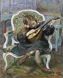 Henri Lebasque | The Little Mandolinist, 1905 | Giclée Canvas Print