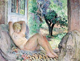 Grand Nude (Marinette), 1934 by Henri Lebasque | Giclée Canvas Print