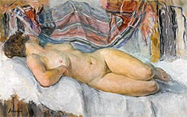 Nude Lying, undated by Henri Lebasque | Giclée Canvas Print