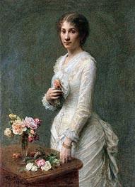 Fantin-Latour | Madeleine Lerolle, 1882 | Giclée Canvas Print