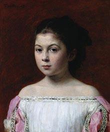 Fantin-Latour | Marie-Yolande de Fitz-James, 1867 | Giclée Canvas Print