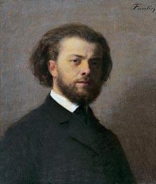 Fantin-Latour | Self Portrait, 1867 | Giclée Canvas Print
