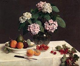 Fantin-Latour | The Dressed Table, 1866 | Giclée Canvas Print