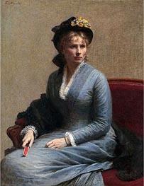 Fantin-Latour | Charlotte Dubourg, 1882 | Giclée Canvas Print