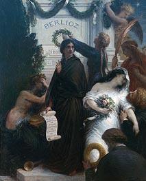 Fantin-Latour | Anniversary of Berlioz, 1878  | Giclée Canvas Print