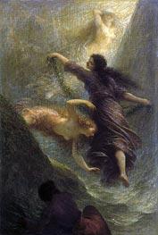 Fantin-Latour | Rheingold (First Scene), 1888 | Giclée Canvas Print
