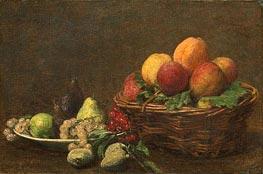 Fantin-Latour | Still Life with Fruits, 1890 | Giclée Canvas Print