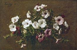 Fantin-Latour | Petunias, 1881 | Giclée Canvas Print