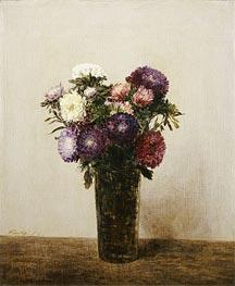 Fantin-Latour | Vase of Flowers, 1872 | Giclée Canvas Print