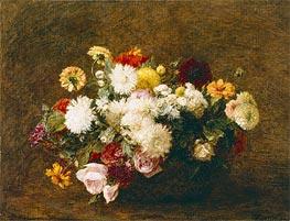 Fantin-Latour | Bouquet of Flowers, 1894 | Giclée Canvas Print