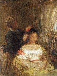Fantin-Latour | The Hairdresser, undated | Giclée Canvas Print