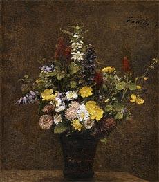 Fantin-Latour | Wild Flowers, 1879 | Giclée Canvas Print