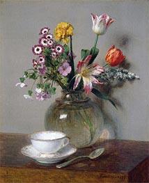 Fantin-Latour | Spring Bouquet | Giclée Canvas Print