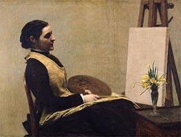 Fantin-Latour | The Study, 1883 | Giclée Canvas Print