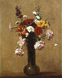 Fantin-Latour | Small Bouquet | Giclée Canvas Print