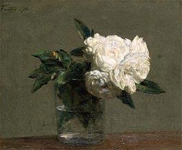 Fantin-Latour | Roses, 1871 | Giclée Canvas Print