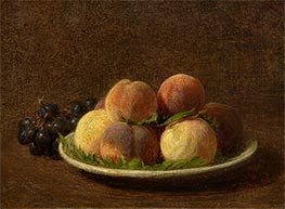Fantin-Latour | Peaches and Grapes, 1894 | Giclée Canvas Print