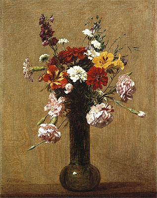 Small Bouquet, 1891 | Fantin-Latour | Painting Reproduction