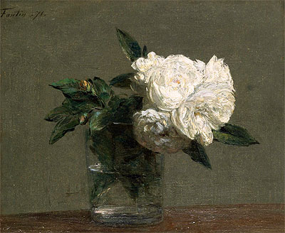 Roses, 1871 | Fantin-Latour | Painting Reproduction