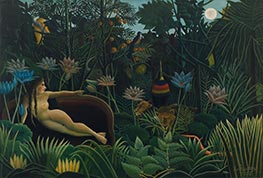 Henri Rousseau | The Dream, 1910 | Giclée Canvas Print
