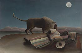The Sleeping Gypsy, 1897 by Henri Rousseau | Giclée Canvas Print