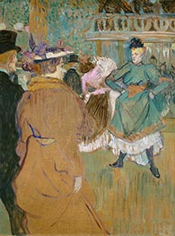 Quadrille at the Moulin Rouge, 1892 by Toulouse-Lautrec | Giclée Canvas Print