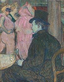 Maxime Dethomas, 1896 by Toulouse-Lautrec | Giclée Canvas Print