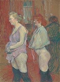 Rue des Moulins, 1894 by Toulouse-Lautrec | Giclée Canvas Print