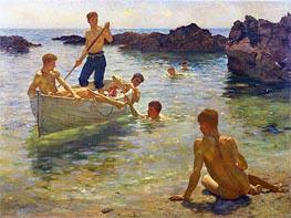 Morning Splendour, 1922 by Tuke | Giclée Canvas Print