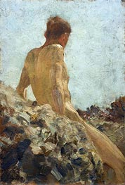 Tuke | Nude Study | Giclée Canvas Print