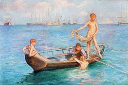 August Blue, 1896 by Tuke | Giclée Paper Print