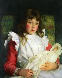 Tuke | Portrait of Molly Dalrymple, 1891 | Giclée Canvas Print
