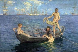 Tuke | August Blue, c.1893/94 | Giclée Canvas Print